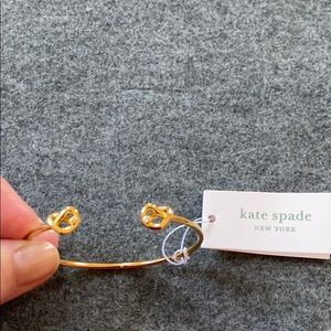 "NWT Kate Spade ""loves me knot"" bracelet"